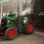 deutz woodgas tractor