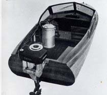 woodgas boat
