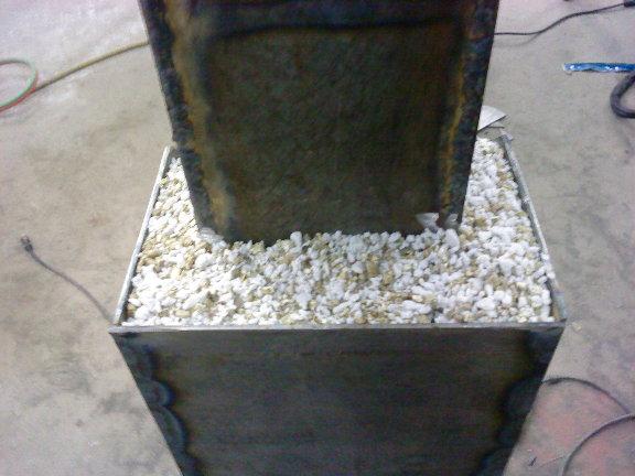 Rocket Stove Insulation : Vendel s rocket stove design us wood power